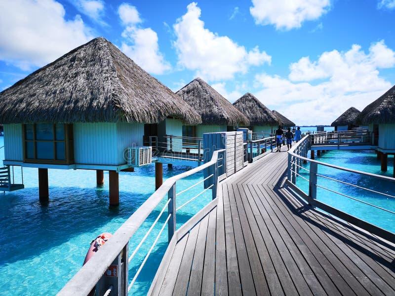 Tahiti. French polynesia  . french polynesia. , sky, vacation royalty free stock photo
