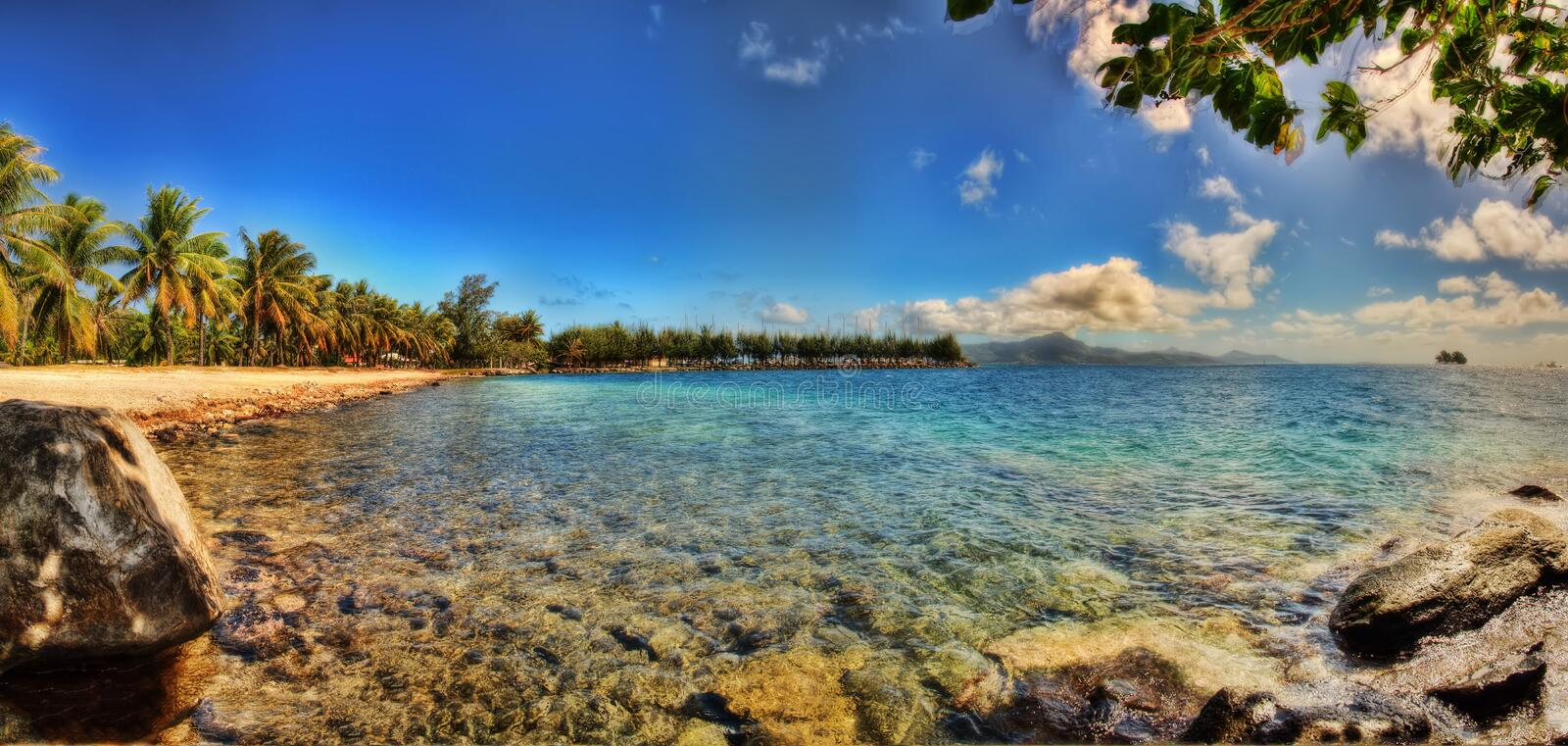 Tahiti, French Polynesia. Taken in 2015 royalty free stock photo
