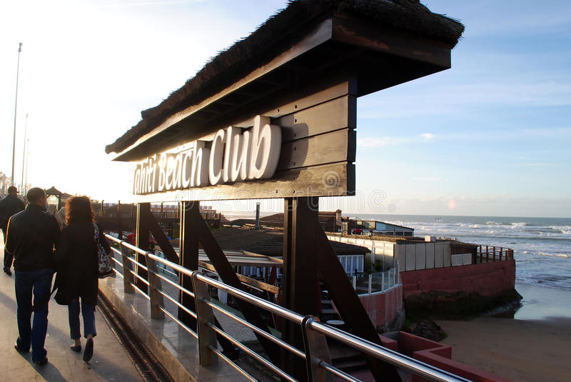 Tahiti plaży klub zdjęcie stock