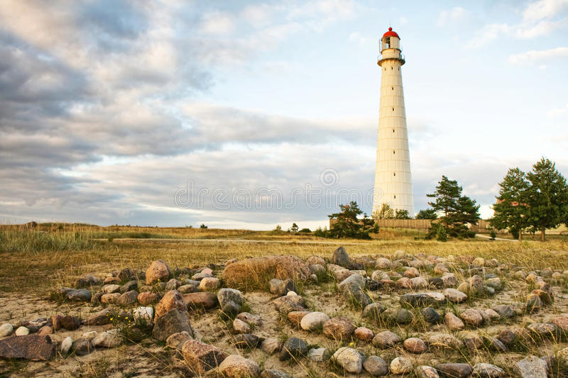 Download Tahkuna Lighthouse stock image. Image of landmark, beacon - 15946229