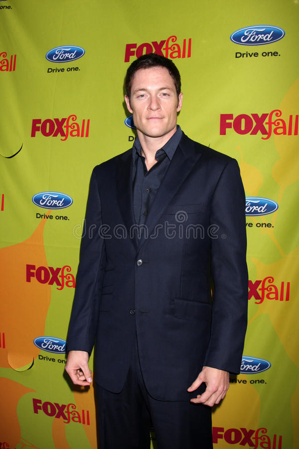Tahmoh Penikett. Arriving at the FOX-Fall Eco-Casino Party at BOA Steakhouse in West Los Angeles, CA on September 14, 2009 royalty free stock photo