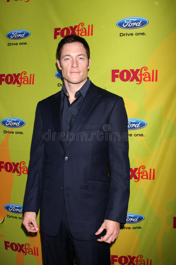 Tahmoh Penikett. Arriving at the FOX-Fall Eco-Casino Party at BOA Steakhouse in West Los Angeles, CA on September 14, 2009 royalty free stock photos