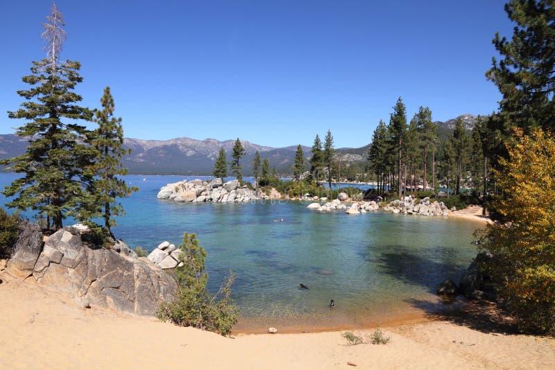 Tahoe湖 免版税库存照片