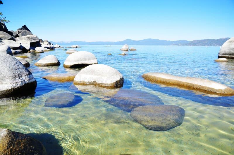 Tahoe湖 图库摄影