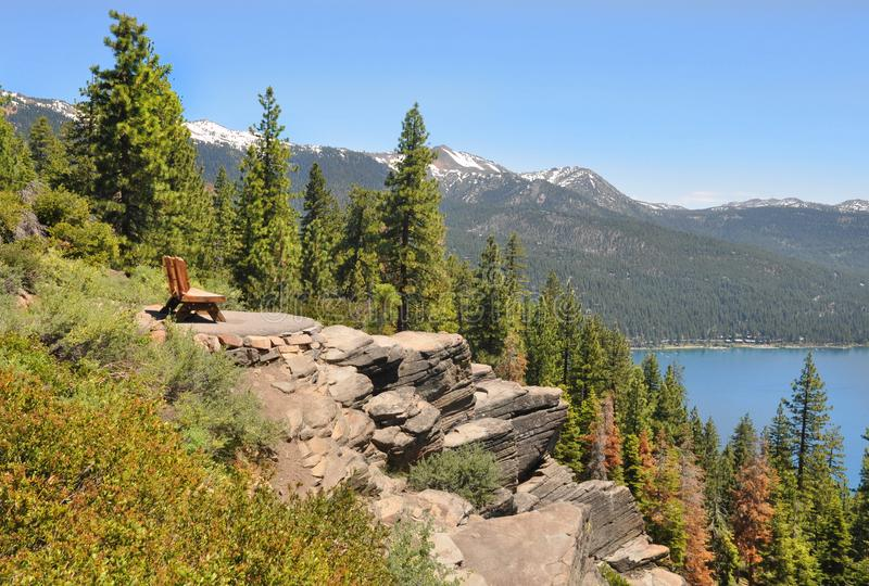 Tahoe湖 库存图片