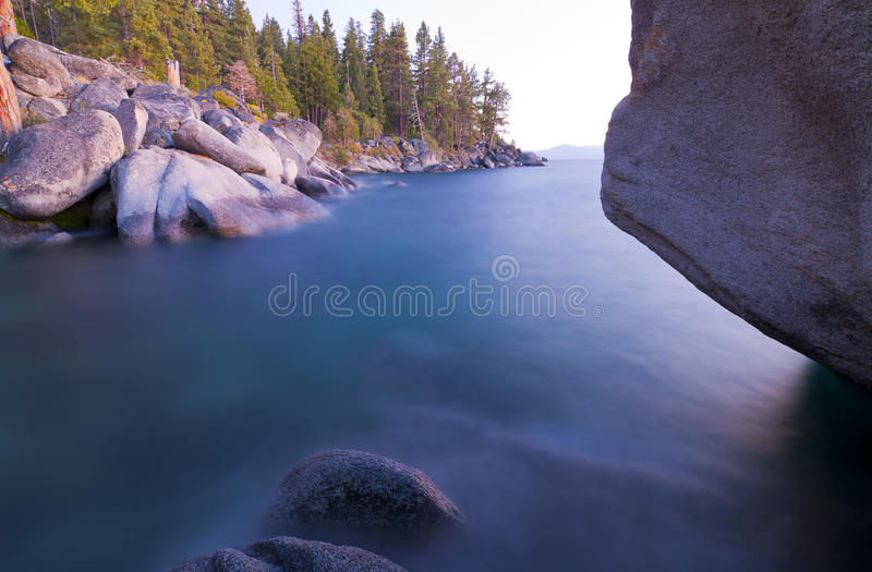 Download Tahoe Calm stock image. Image of exposure, sierra, lakes - 21343037