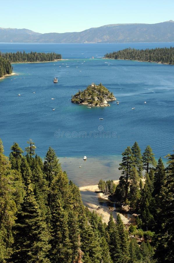 Tahoe lake royalty free stock image