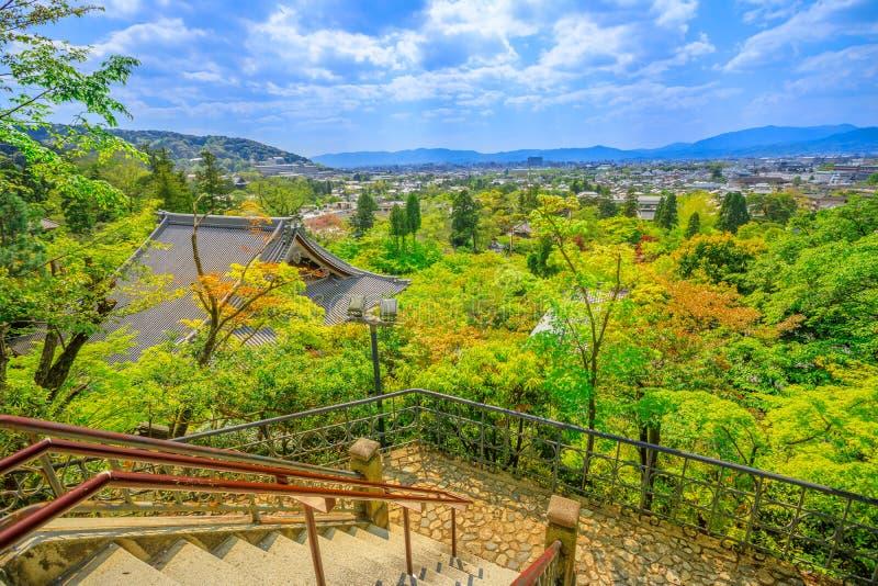 Tahotopagode in Kyoto stock foto's