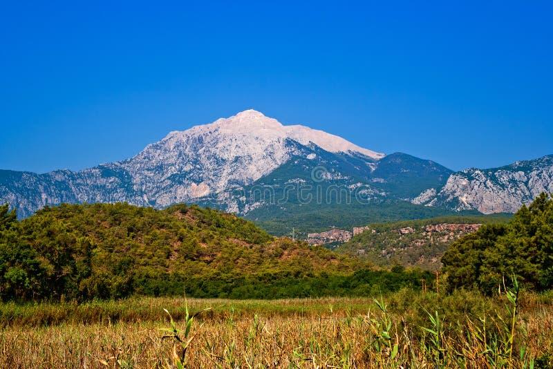 Tahtali Berg stockbild