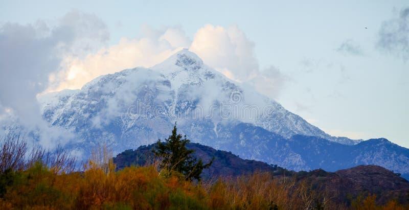 Tahtali góra w Turcja, Antalya Kemer obrazy royalty free