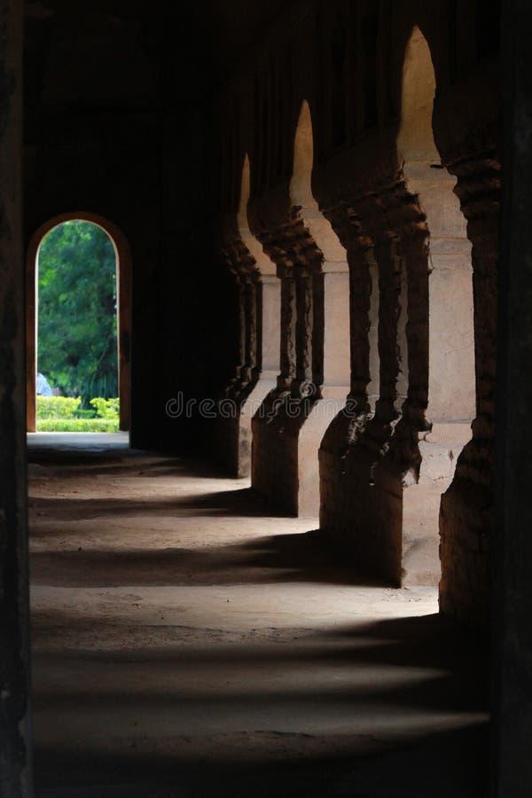 Tai Ahom Royal Palace, Gargaon, Assam, Índia imagem de stock