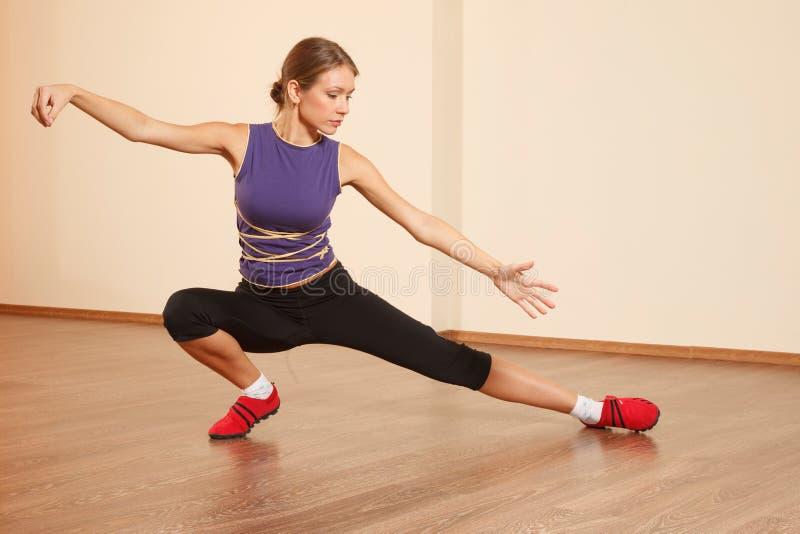 Tai Chi άσκηση στοκ φωτογραφία με δικαίωμα ελεύθερης χρήσης