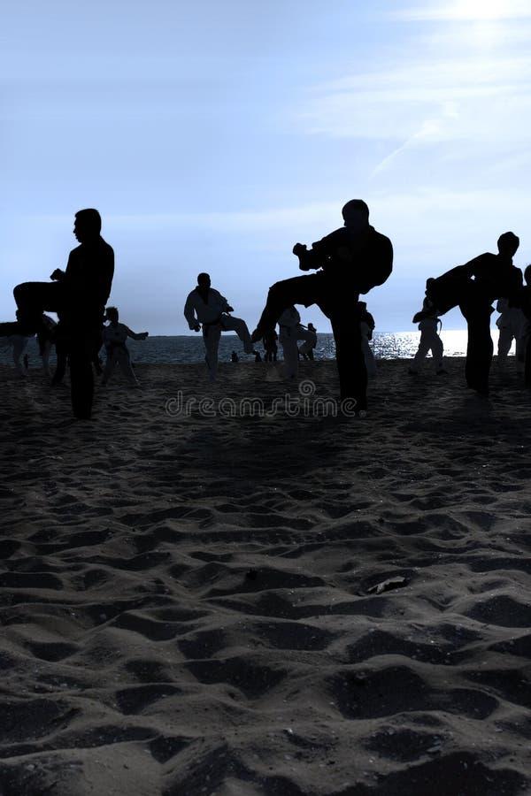 Free Tai Chi Beach III Stock Images - 958924