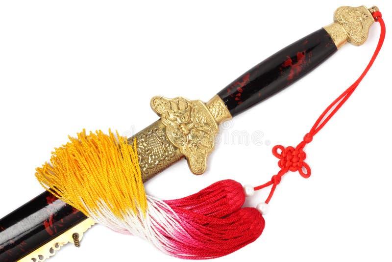 Tai Chi sword royalty free stock image