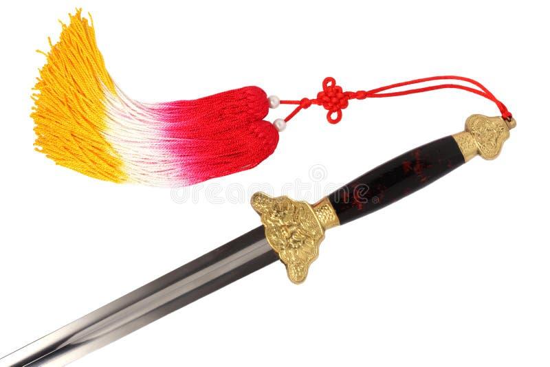 Tai Chi sword royalty free stock photos