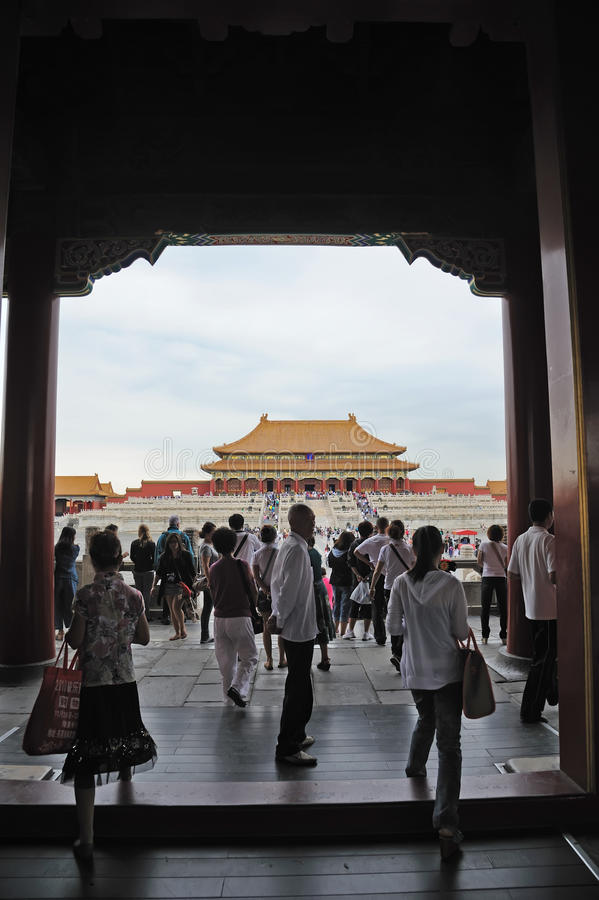 Tai he dian,The Forbidden City (Gu Gong) royalty free stock images