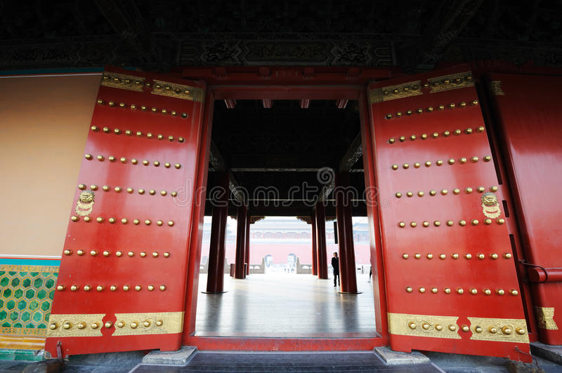 Tai he dian,The Forbidden City (Gu Gong) stock photography