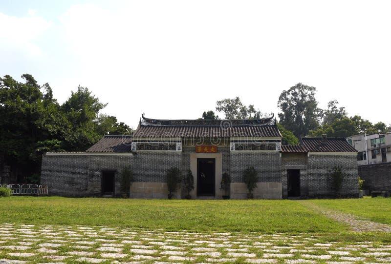 Tai Fu Tai Ancestral Home in Hong Kong stock image