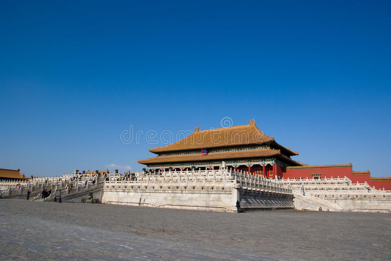Download Tai he hall stock photo. Image of china, founder, brass - 13074214
