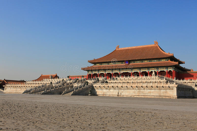 Download Tai He Palace stock photo. Image of emperor, empire, palace - 12837482