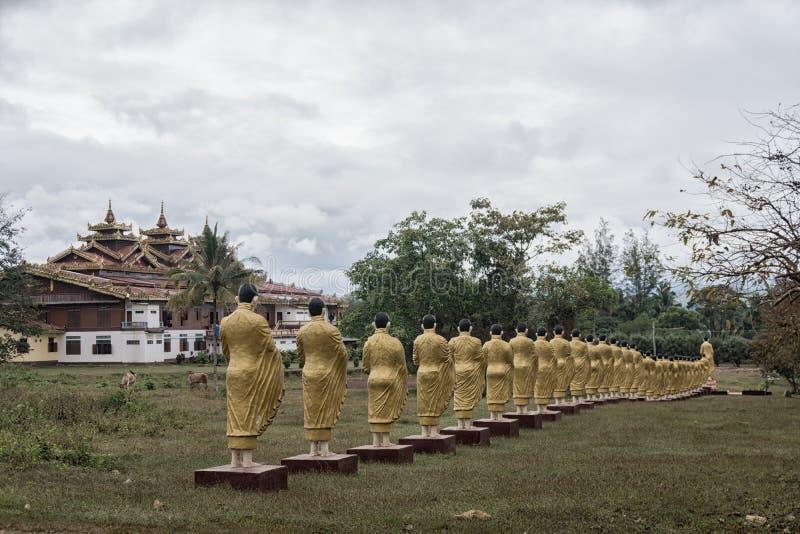 Tai Ta Ya monaster obraz royalty free