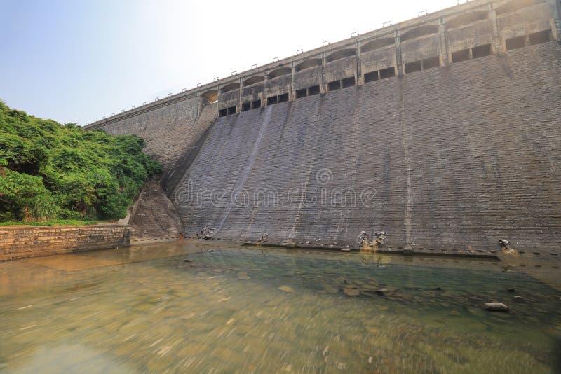 Tai Tam Reservoir bonito em Hong Kong imagem de stock