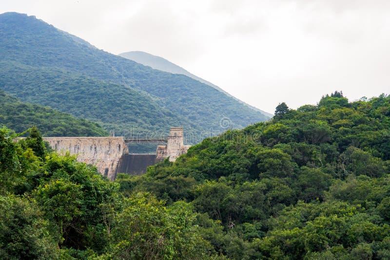 Tai Tam Reservoir en el Monte Parker, Hong Kong fotografía de archivo