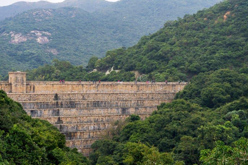 Tai Tam Reservoir en el Monte Parker, Hong Kong fotos de archivo libres de regalías