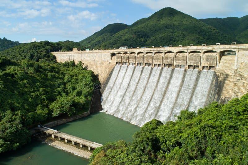 Tai Tam Tuk-Reservoir lizenzfreie stockfotos