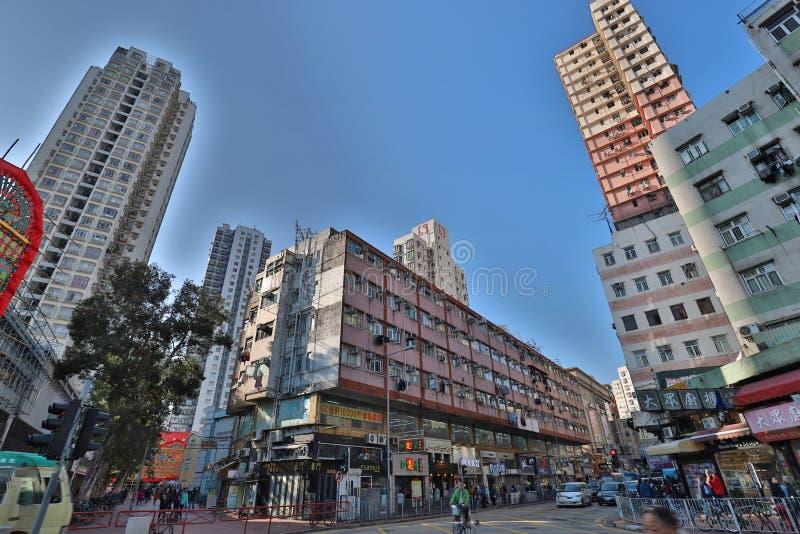 Tai Tong Road, Yuen Long a 2018 immagini stock libere da diritti