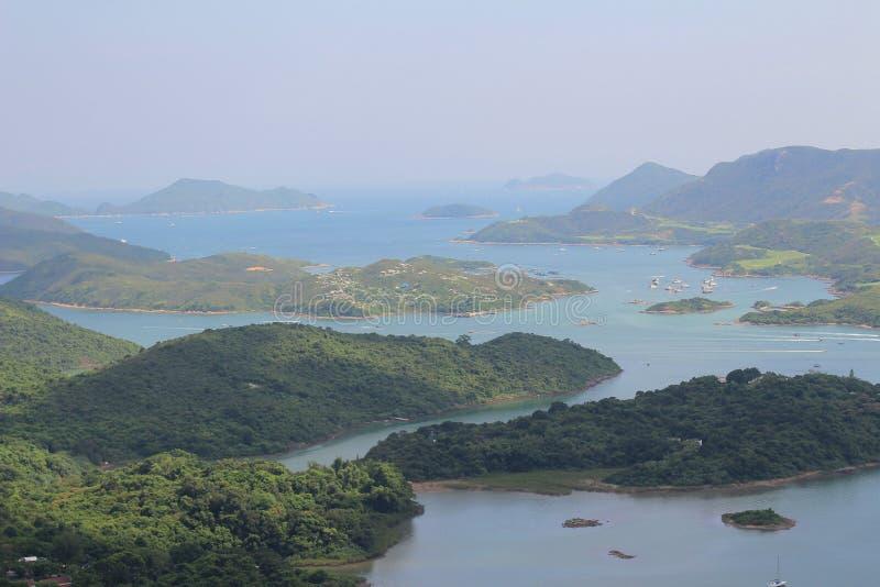 Tai Tun view of sai kung hong kong. The Tai Tun view of sai kung hong kong royalty free stock photography
