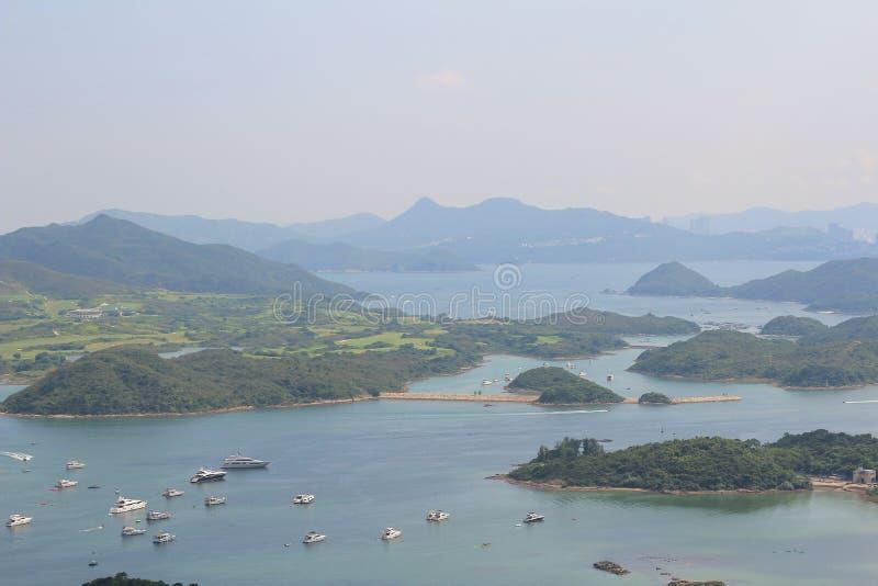 Tai Tun view of sai kung hong kong. The Tai Tun view of sai kung hong kong stock image