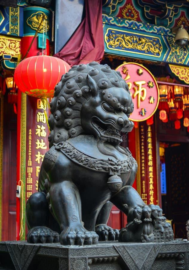 Tai van Wong de Tempel van de Zonde in Hongkong stock fotografie