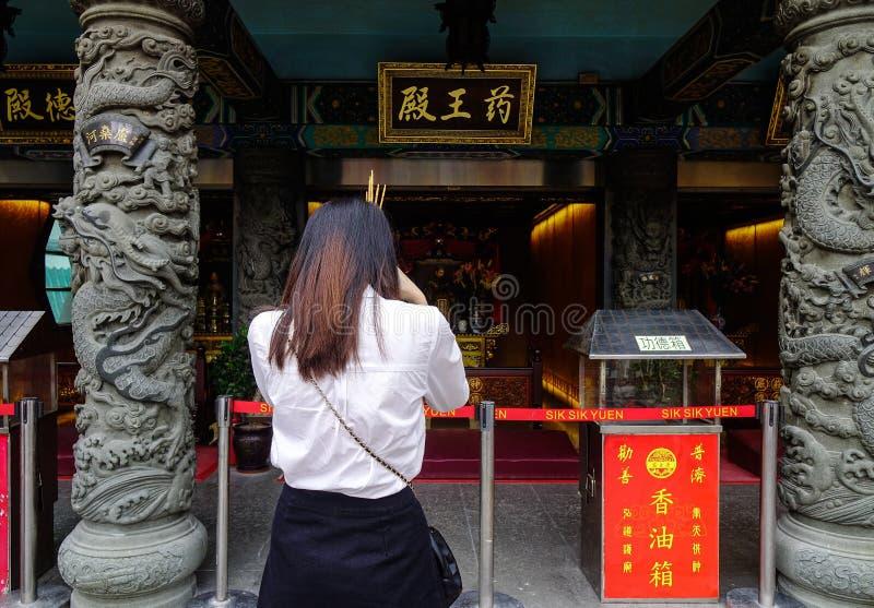 Tai van Wong de Tempel van de Zonde in Hongkong royalty-vrije stock fotografie