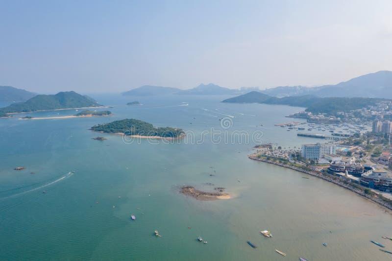 Tai Wan , Sai Kung i Hongkong royaltyfri fotografi
