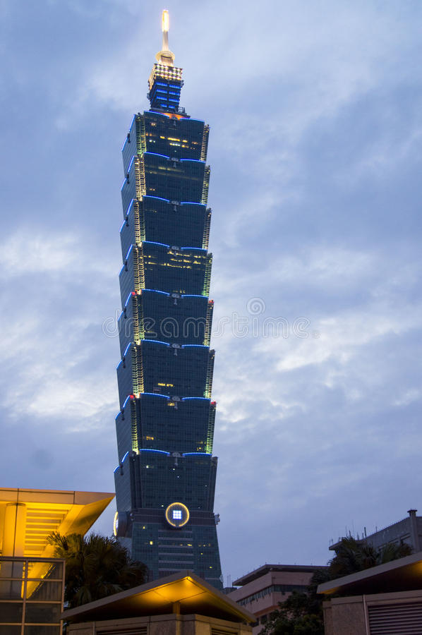 Taibei 101 zdjęcia royalty free