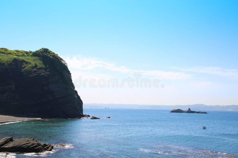 Taibusa udde av Chiba, Japan royaltyfri foto