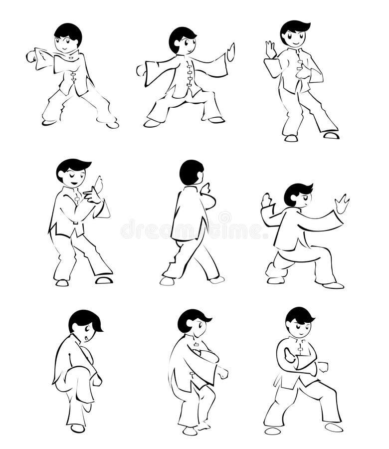 Taichi иллюстрация штока