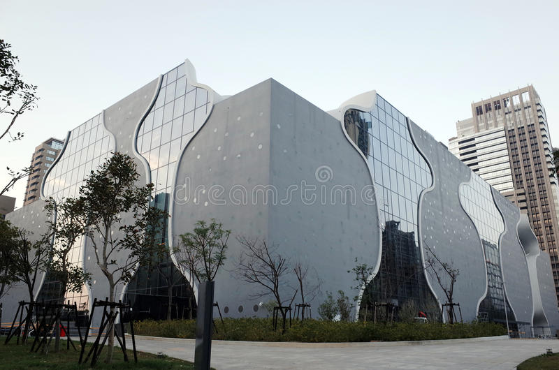 Taichung Metropolitan Opera House royalty free stock photography