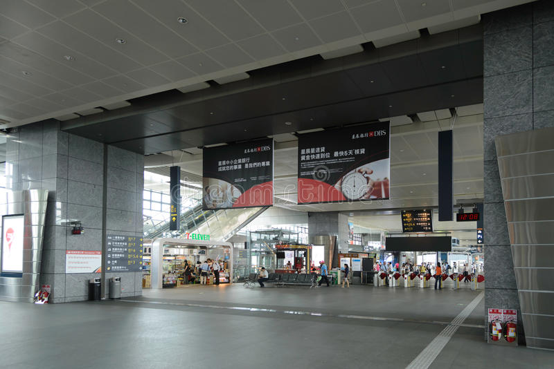 Taichung Station stock photography
