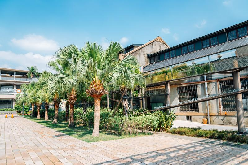 Taichung Cultural and Creative Industries Park in Taiwan stock images