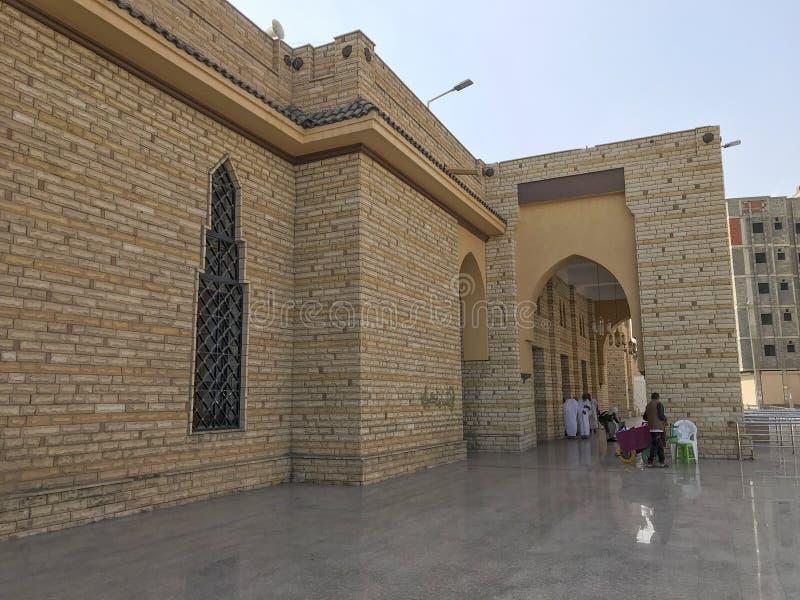 TAIF, SAUDITA ARABIA 22 GENNAIO 2018: Esterno di Abdullah Ibn A fotografia stock