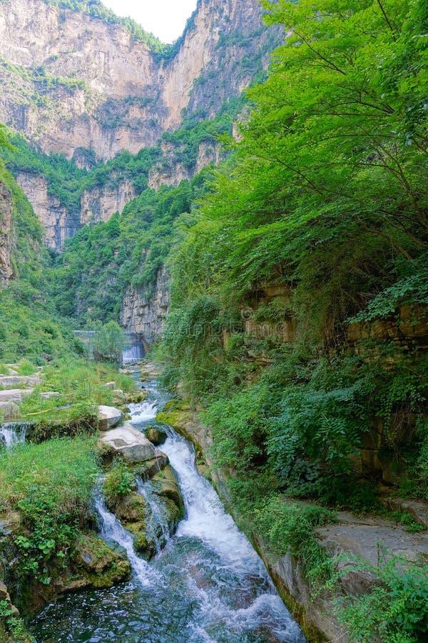 Free Taihang Mountain Grand Canyon Stock Photography - 98178782