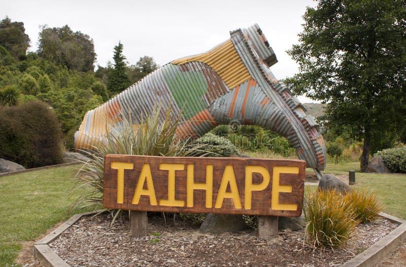 Taihape, Nueva Zelanda imágenes de archivo libres de regalías