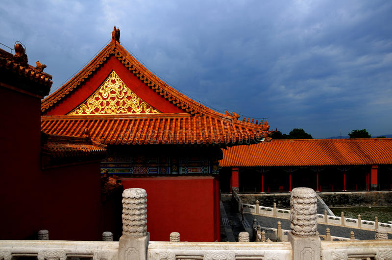 Download The Taihe Palace stock image. Image of view, landscape - 28834977