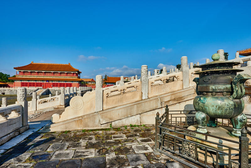 Taihedian dom Najwyższy harmonia imperiału pałac obraz royalty free