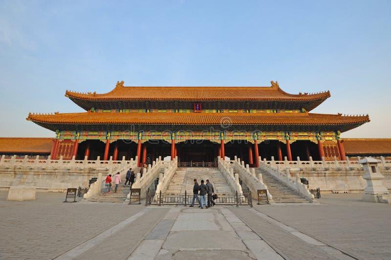 Taihedian,The Forbidden City (Gu Gong) stock photos