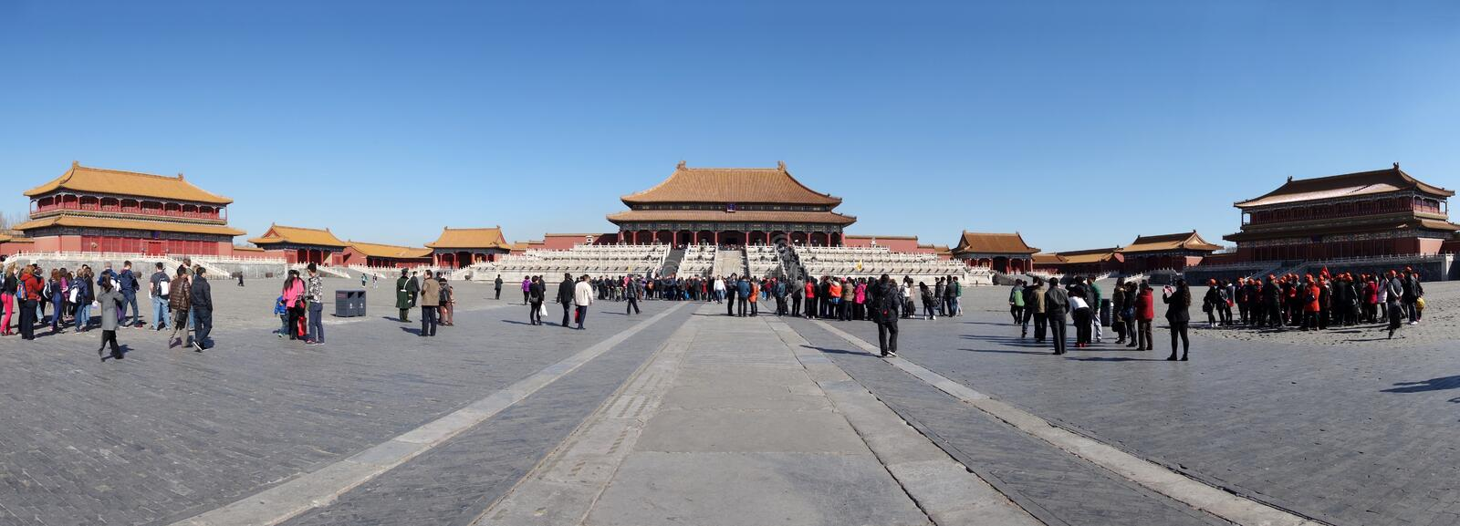 Taihedian,The Forbidden City (Gu Gong) royalty free stock images
