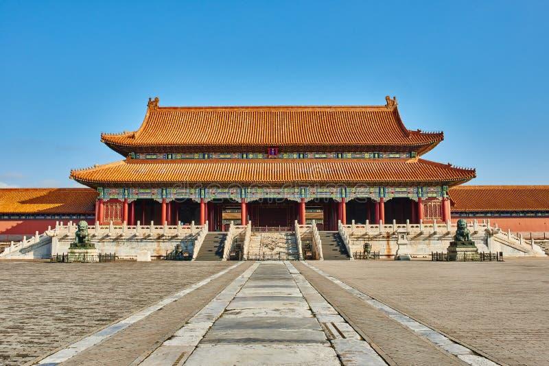 Taihemen port av suveräna Harmony Imperial Palace arkivbilder