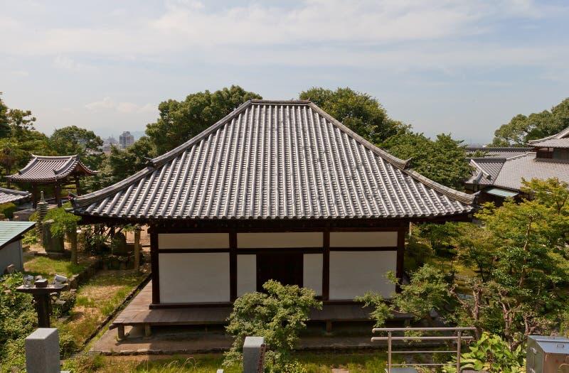Taihojitempel & x28; 13de c & x29; in Matsuyama Nationale Schat van Japa stock fotografie